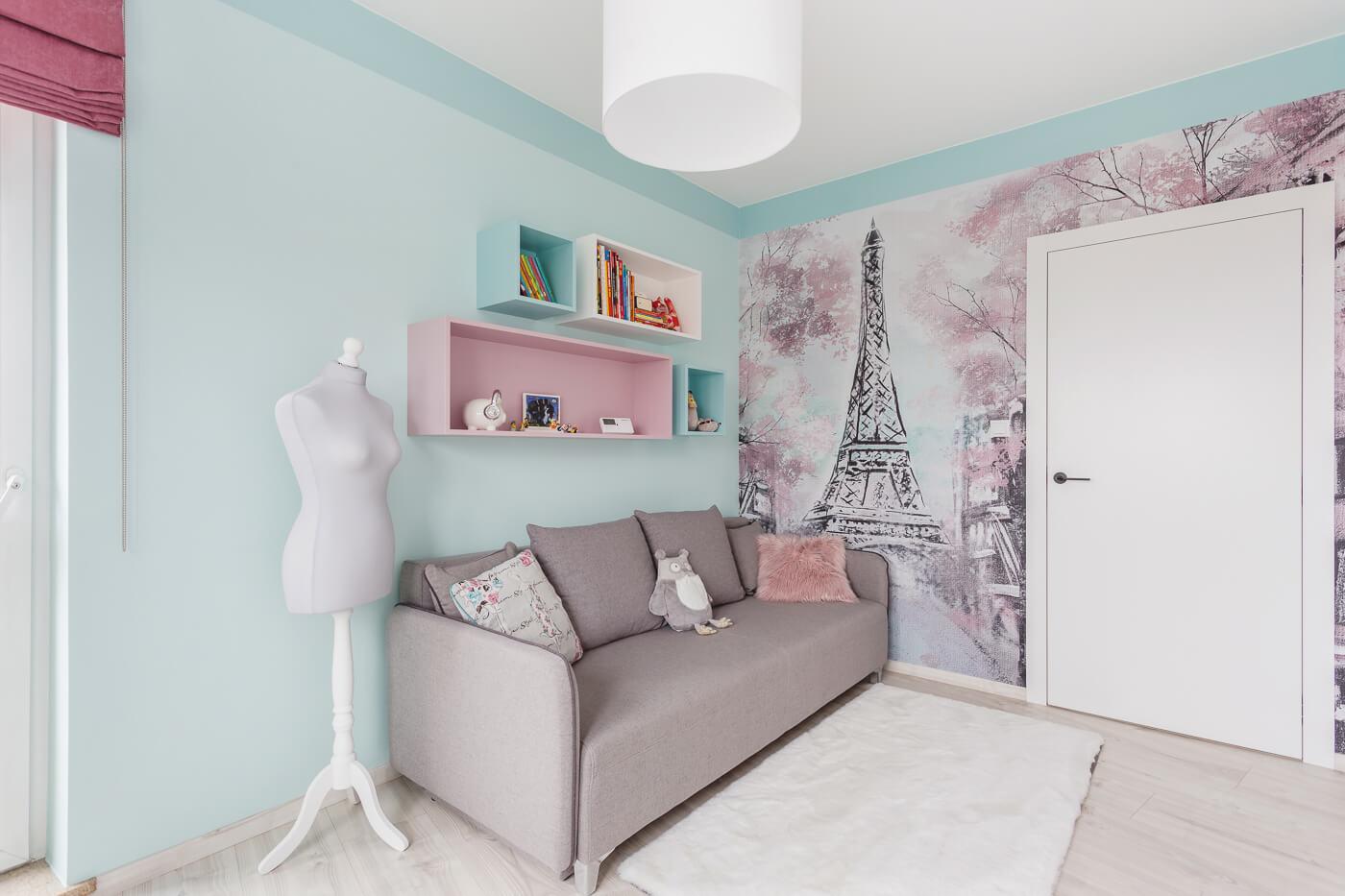 projekt pokoju dla dziewczyny