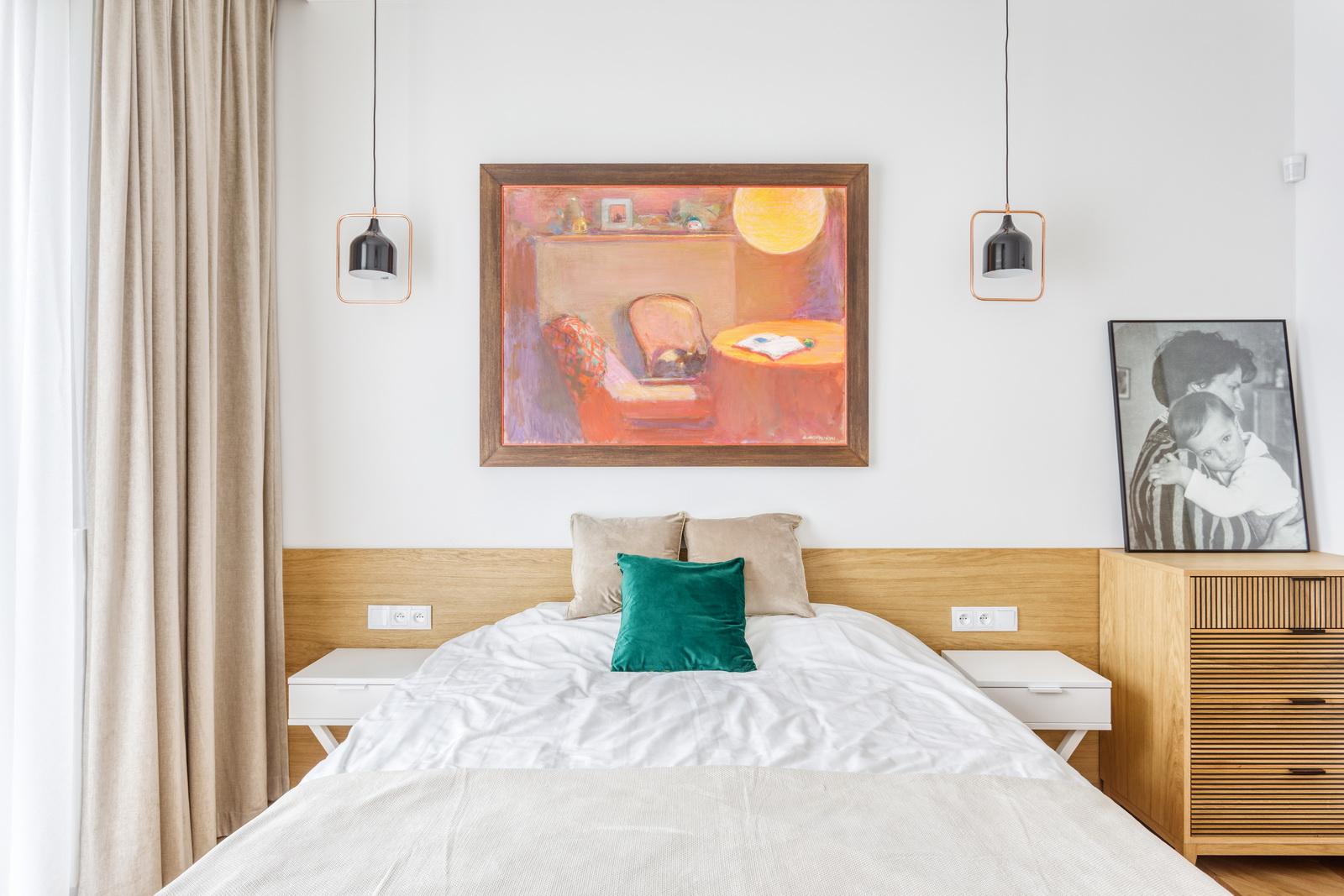 sypialnia projekt