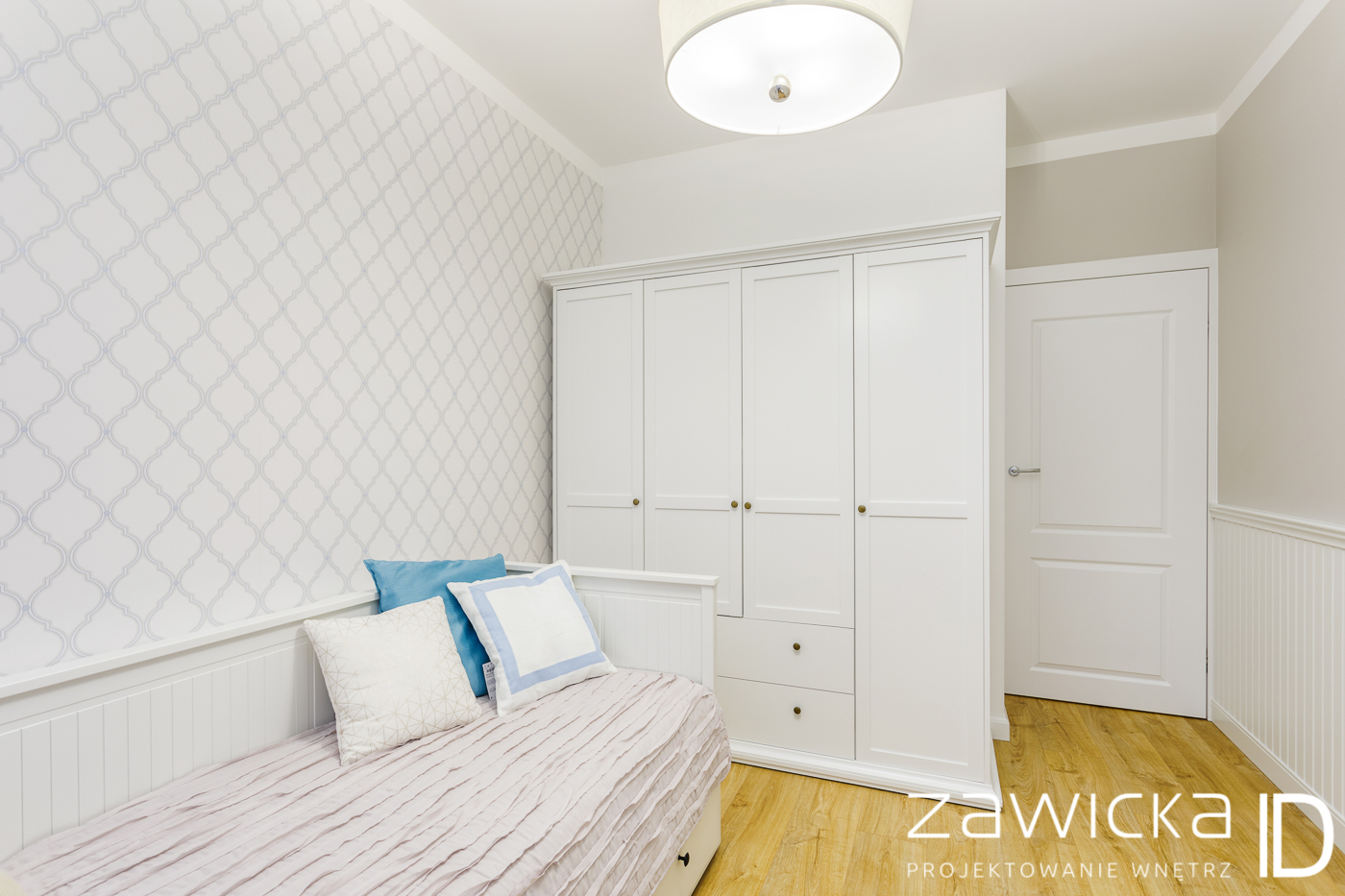 Wnętrza w stylu Hamptons - ZawickaID