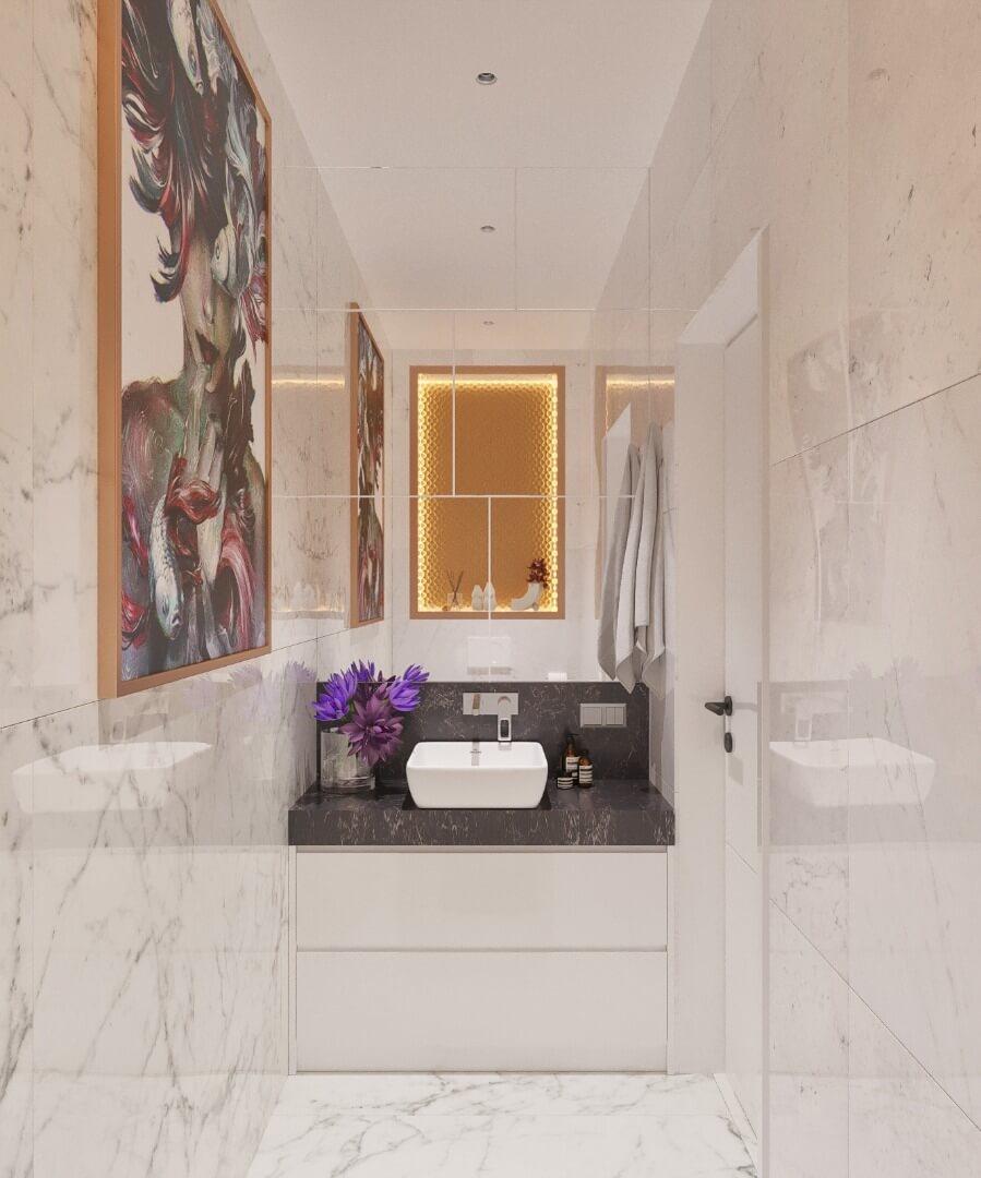 łazienka apartament warszawa