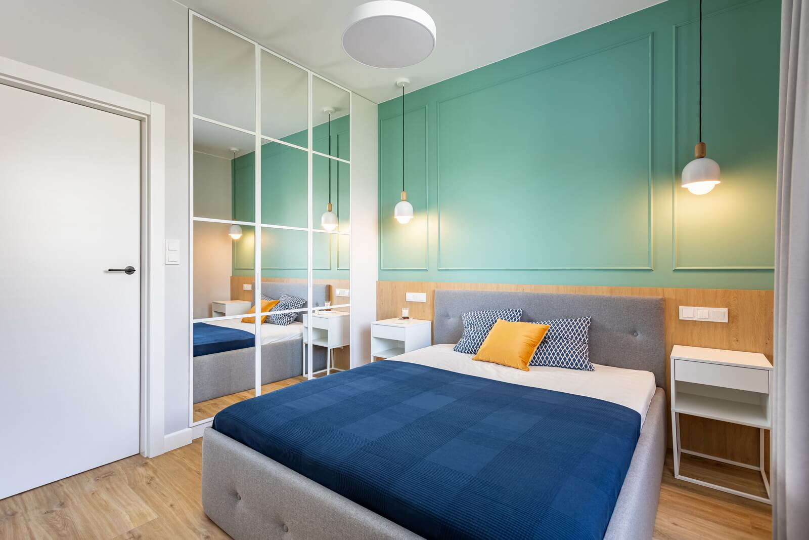 architekt wnętrz sypialnia projekt