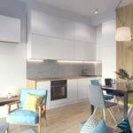 Mieszkanie inwestycyjne - aranżacja, Zawicka ID